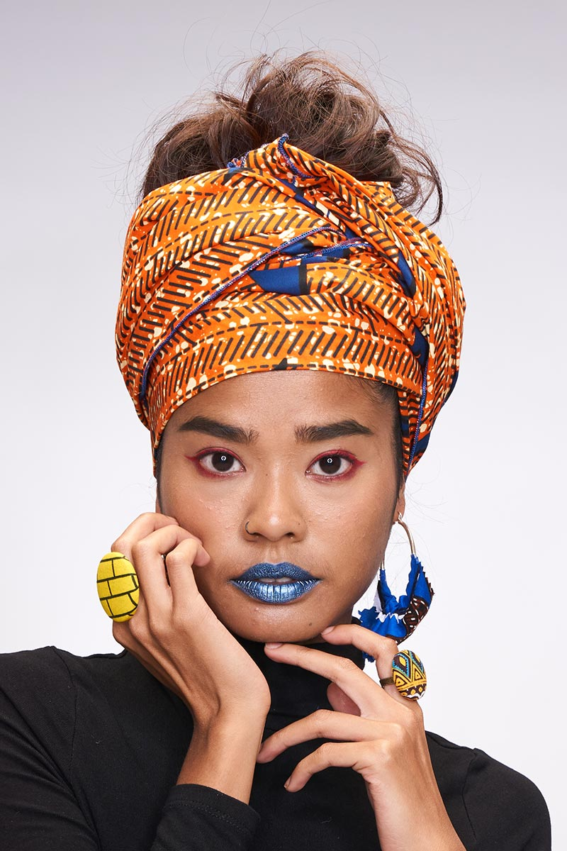 Muney Orange Headwrap