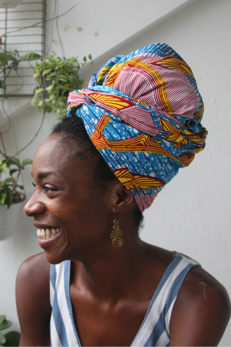 OliveAnkara Dapala Headwrap - side