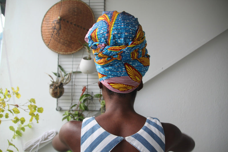 OliveAnkara Dapala Head Wrap - back