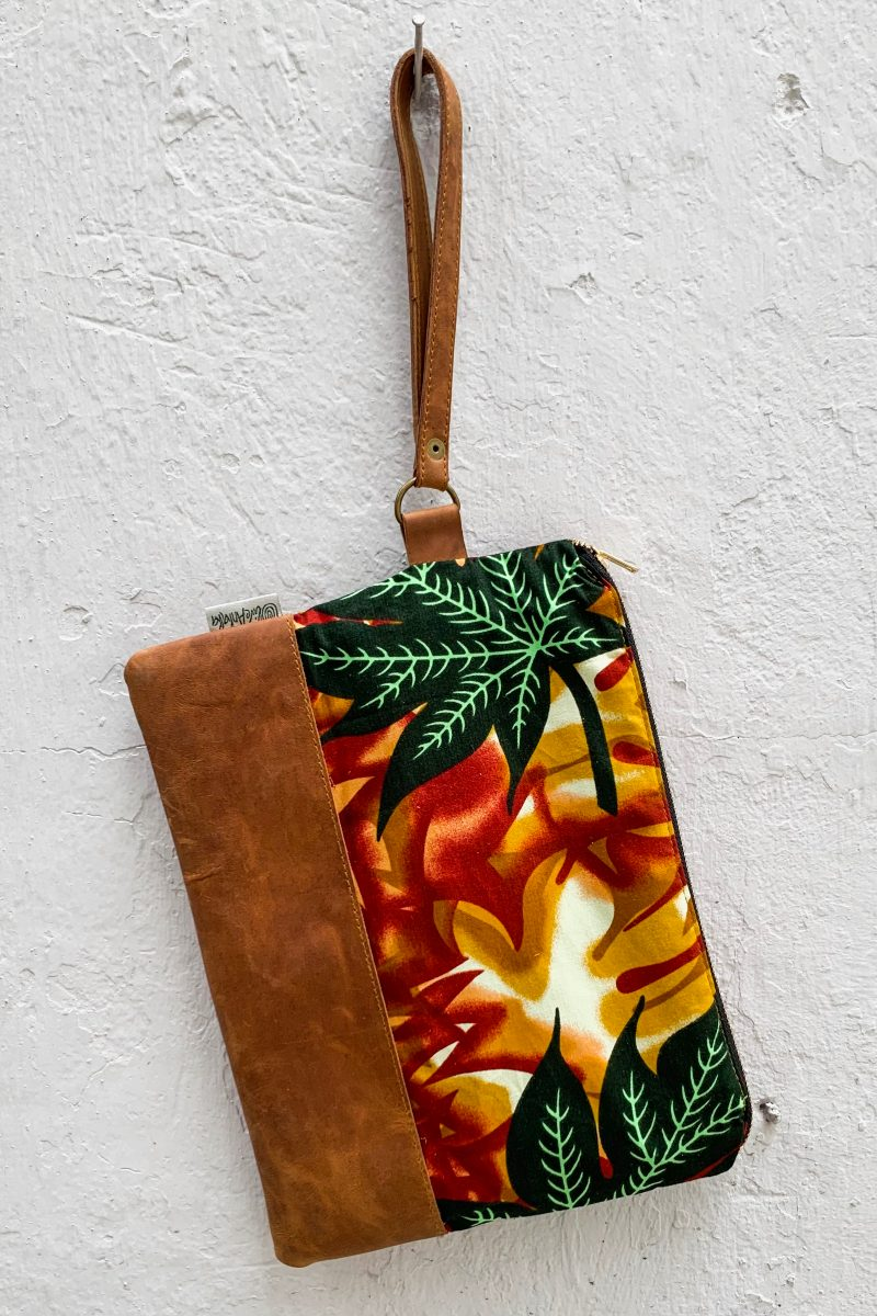 Bepu Autumn Leaves Clutch Bag