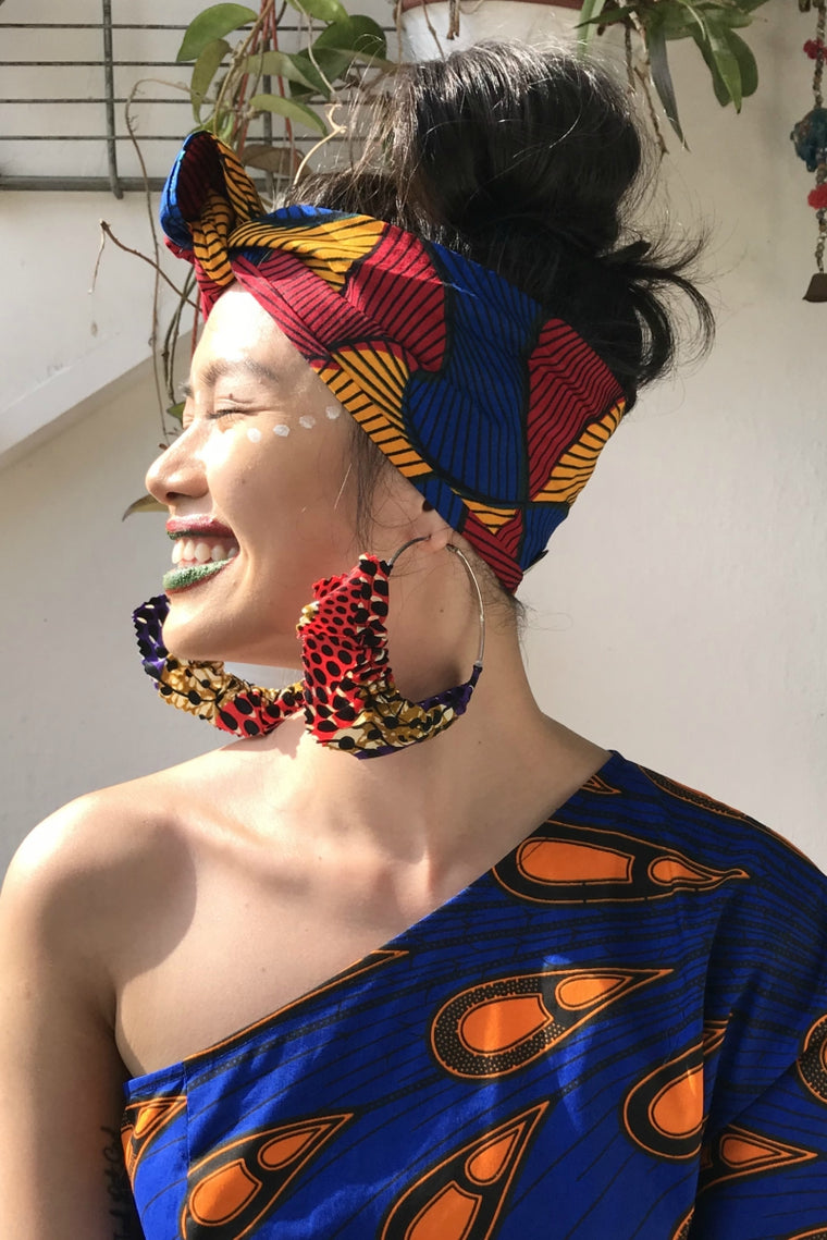 Uboshe - Turban Head Band - side