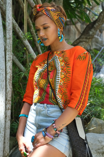 Isioma Dashiki Reversible Jacket