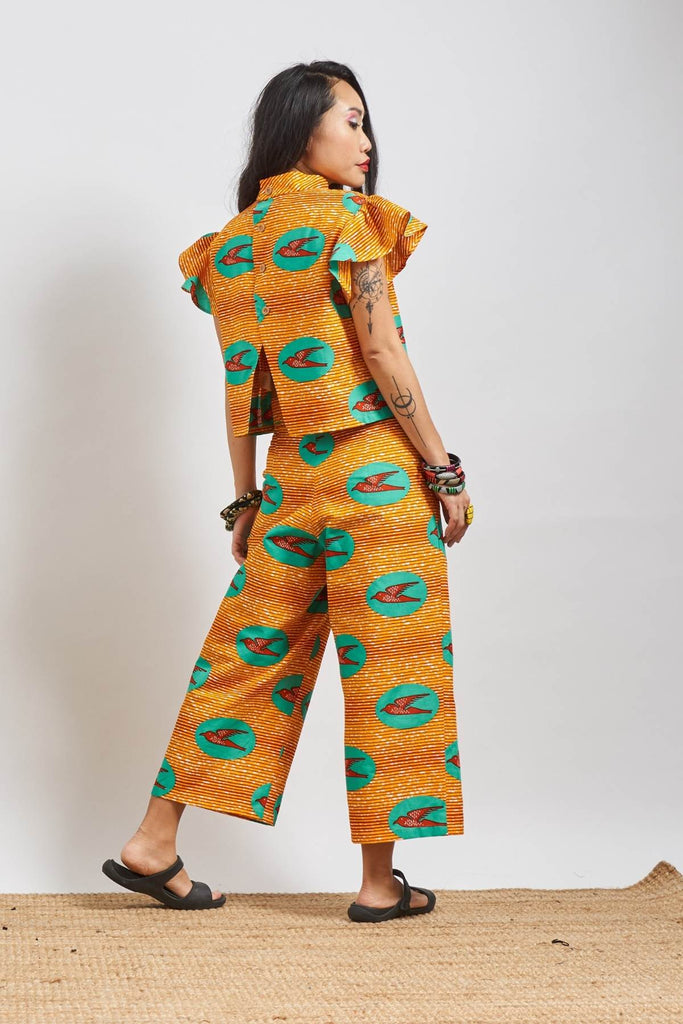 Custom made Kaela Ankara Cheongsam
