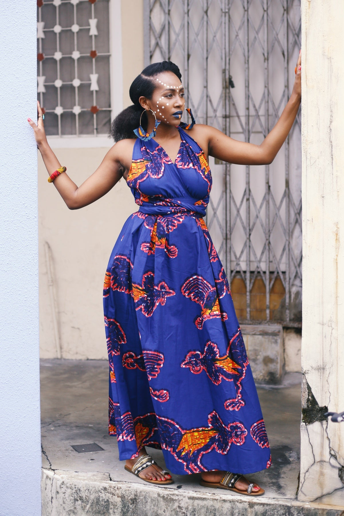 Chinwe Skirt Infinity Dress