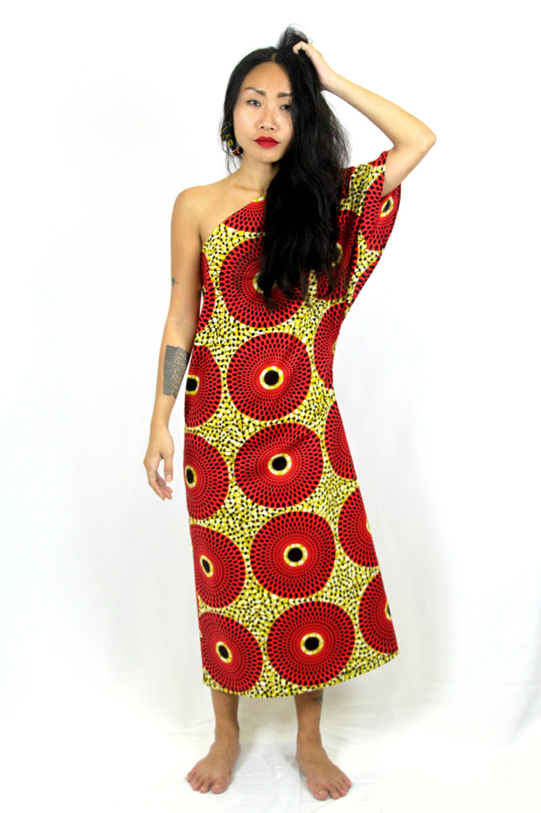 OliveAnkara Capsule Collection ZOPUTA One Shoulder Dress -
