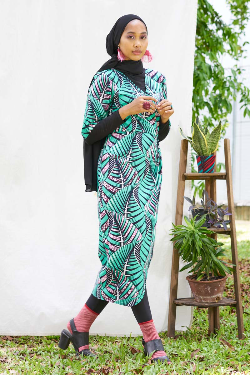 Pre-Order (or Custom-made) Eshaal Ankara Baju Raya