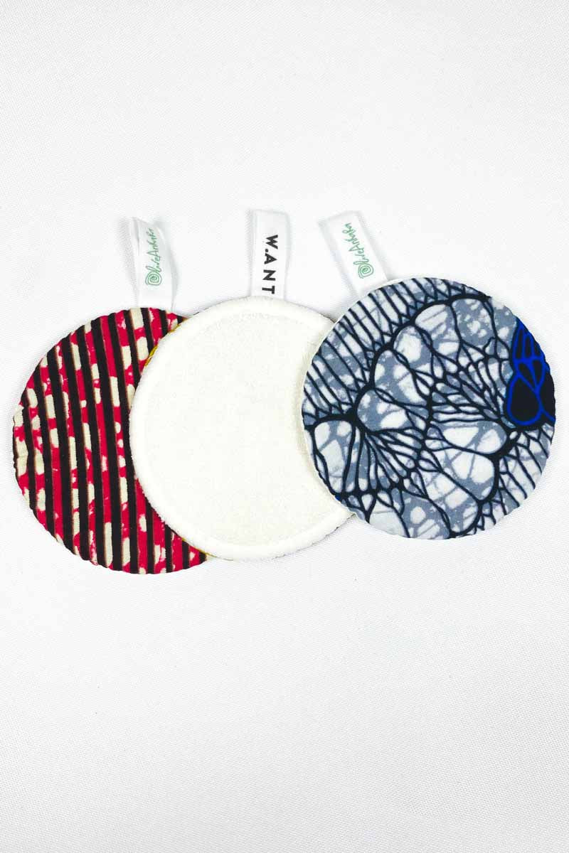OliveAnkara x WANT  Reusable Facial Pads - 1 - (Limited Edition)