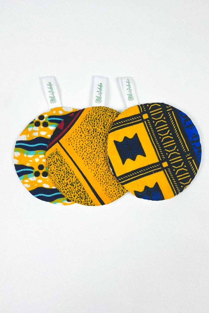 OliveAnkara x WANT  Reusable Facial Pads - 4 - (Limited Edition)