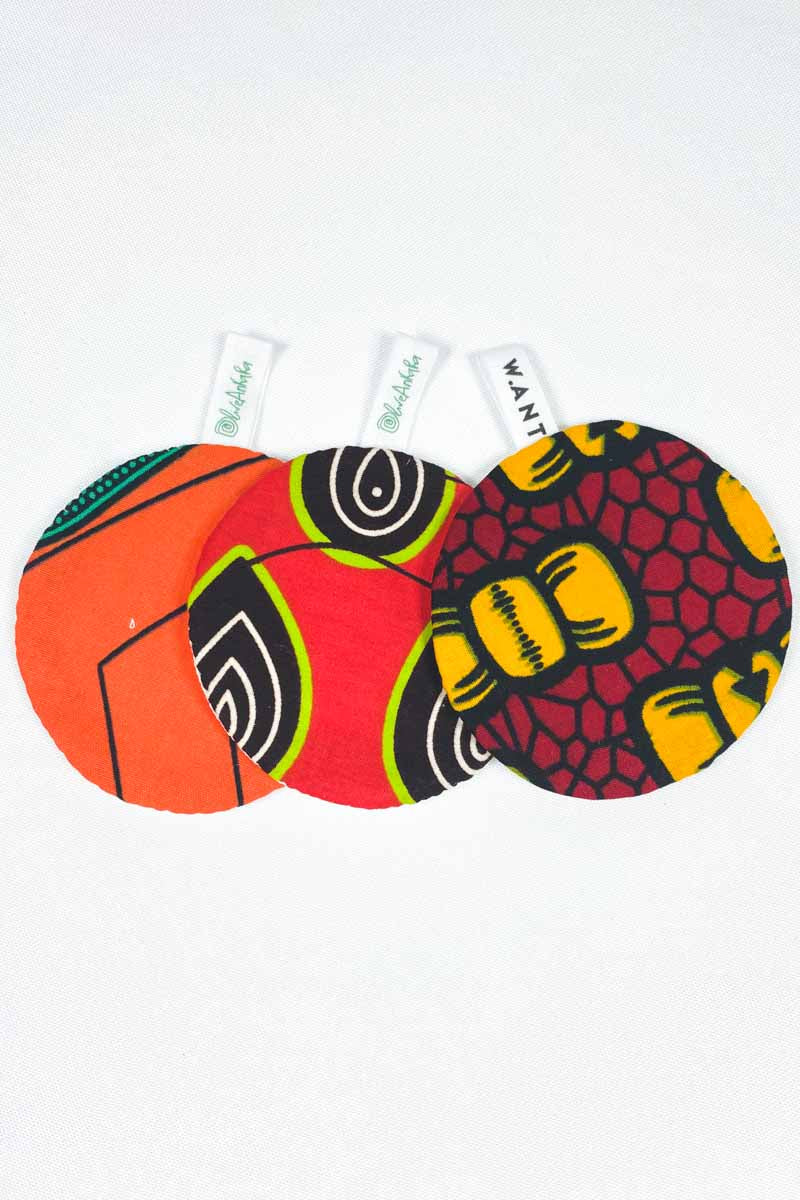 OliveAnkara x WANT  Reusable Facial Pads - 6 - (Limited Edition)