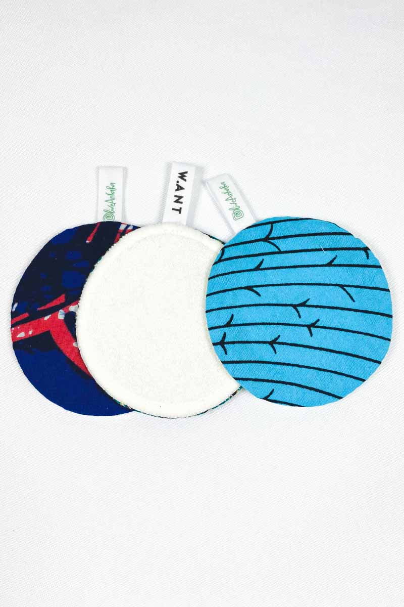 OliveAnkara x WANT  Reusable Facial Pads - 7 - (Limited Edition)