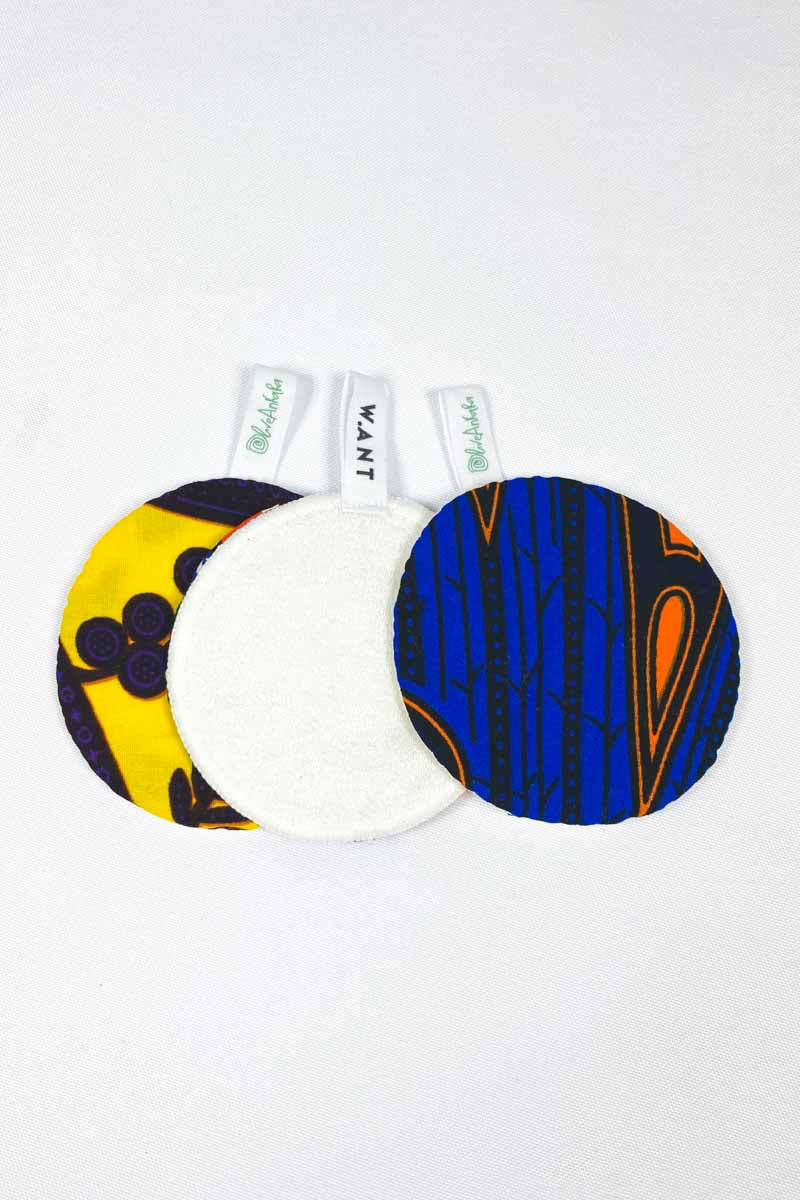 OliveAnkara x WANT  Reusable Facial Pads - 8 - (Limited Edition)