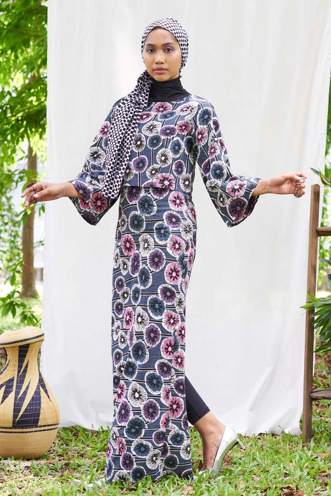 Pre-Order (or Custom-made) Laiba Ankara Baju Raya