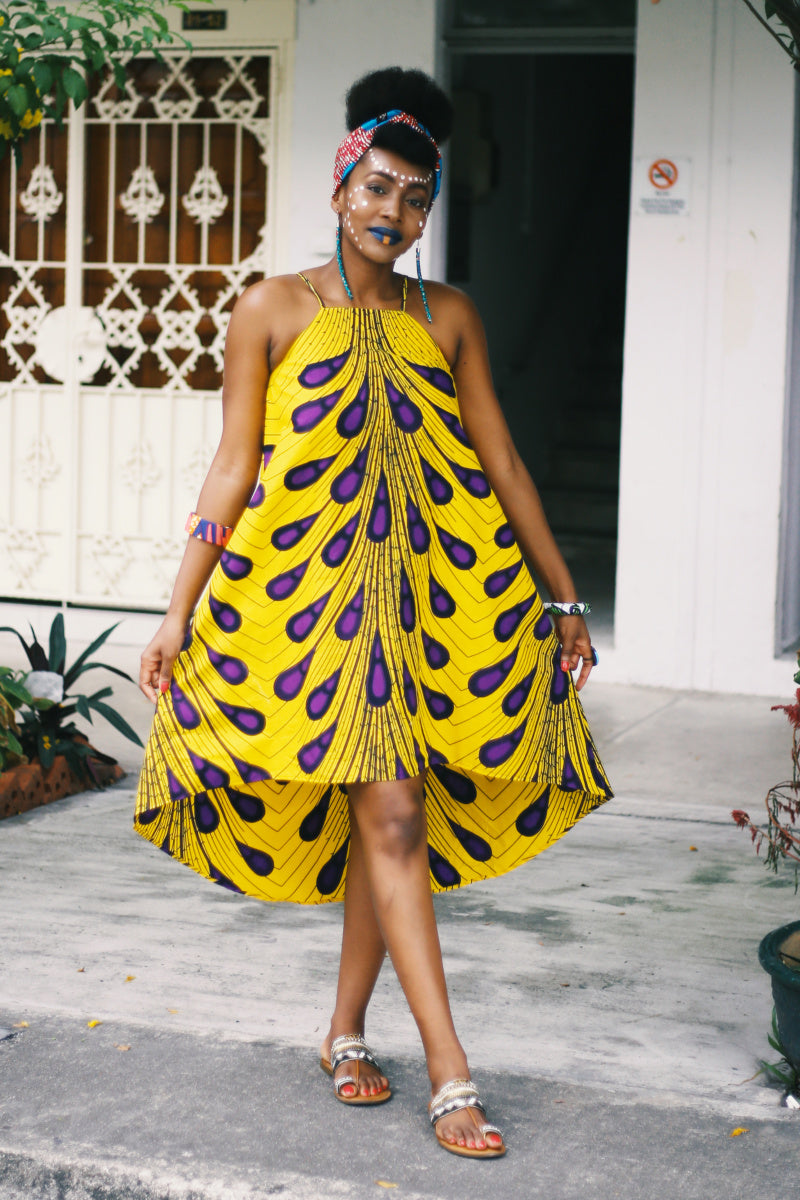 Ayodele Peacock Dress