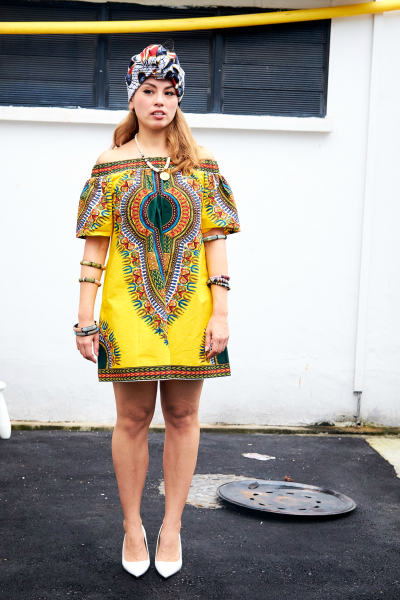 UMEALA Dashiki - Off Shoulder Dress