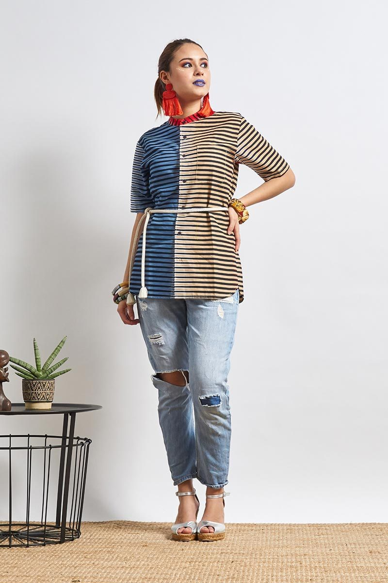 Unathi Stripes Unisex Shirt