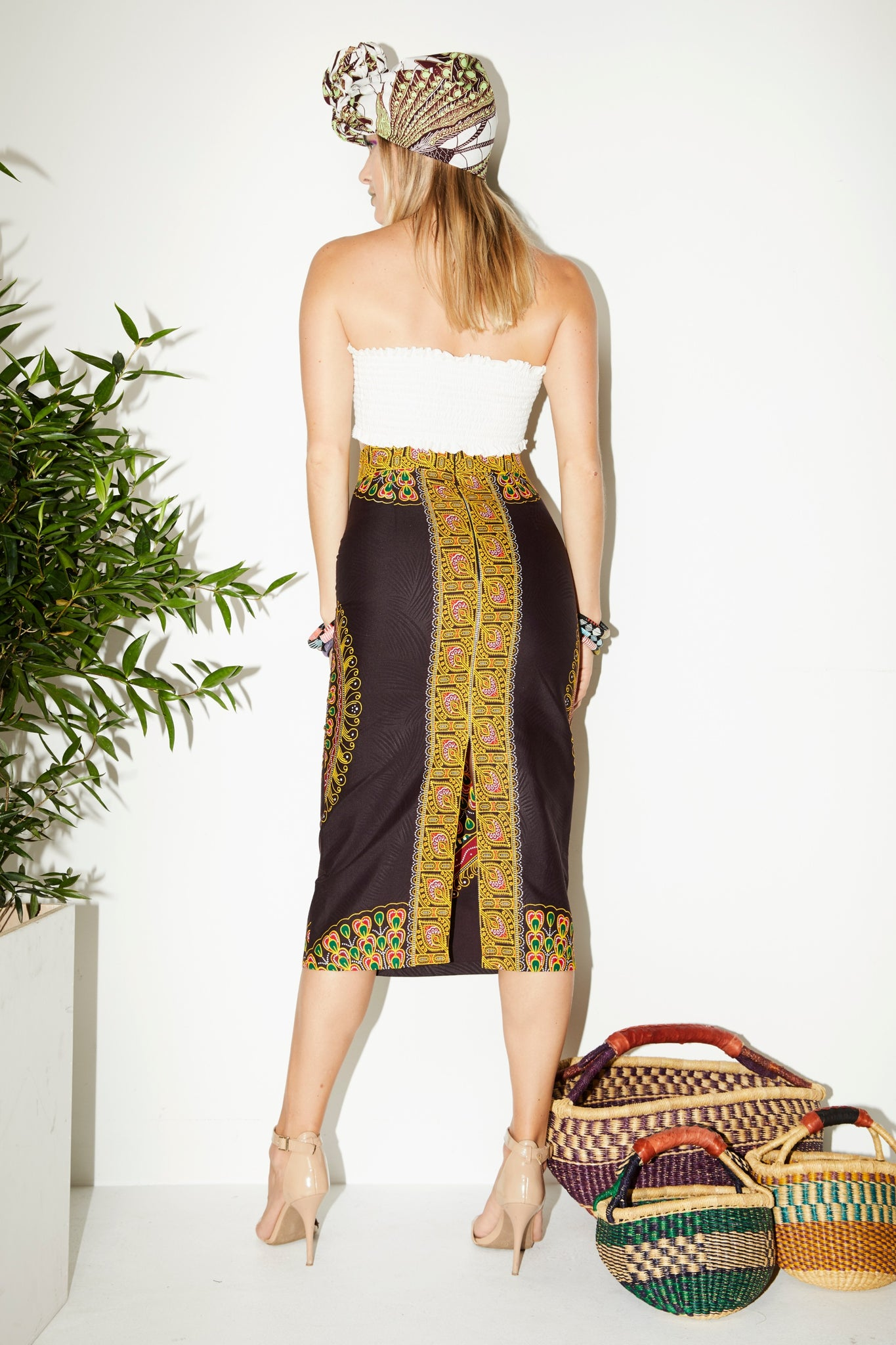 Zoya Pencil Skirt