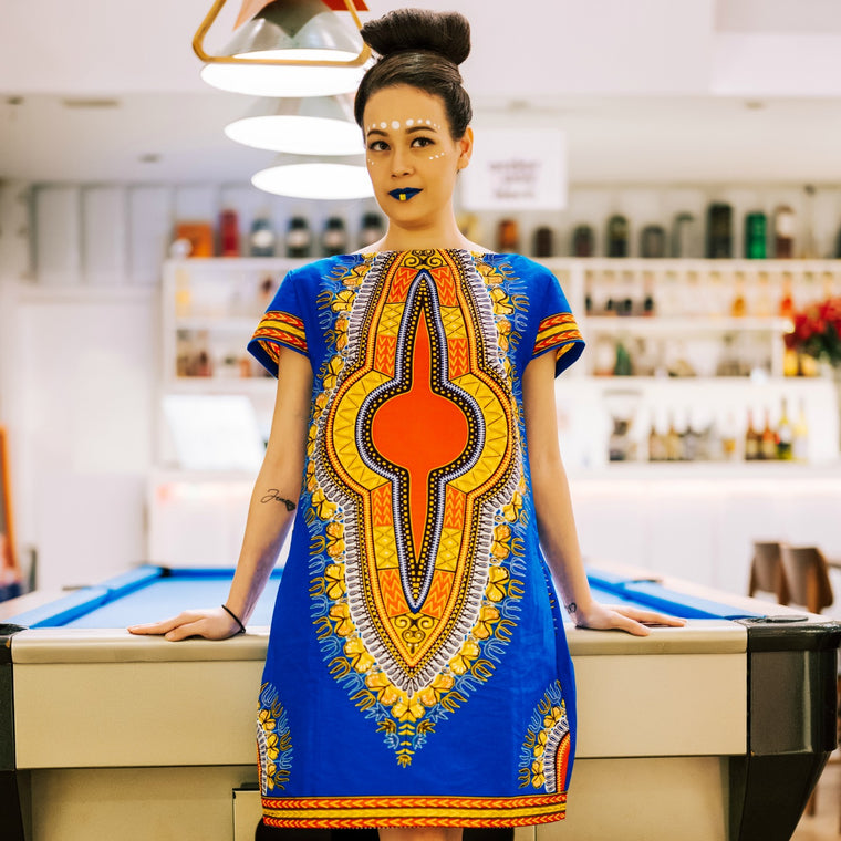 Zinsa - Dashiki Dress