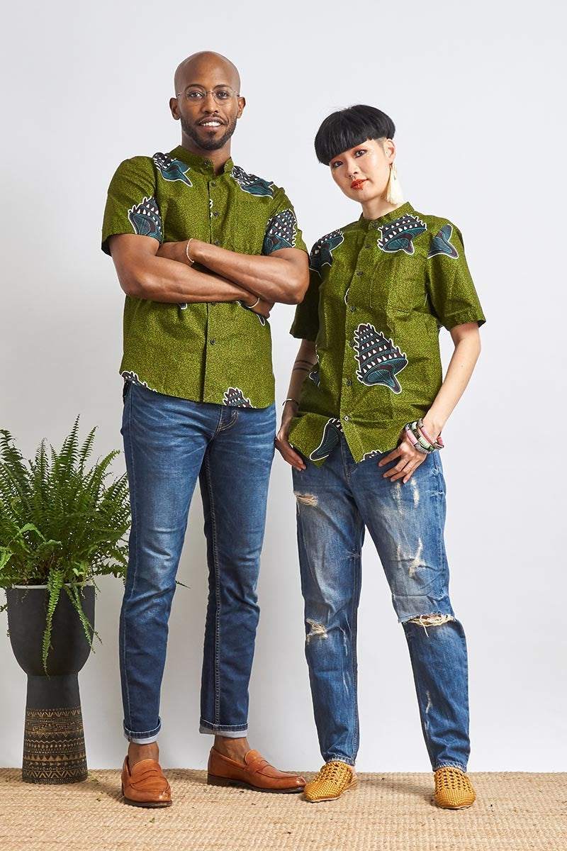 Unathi Green Unisex Shirt