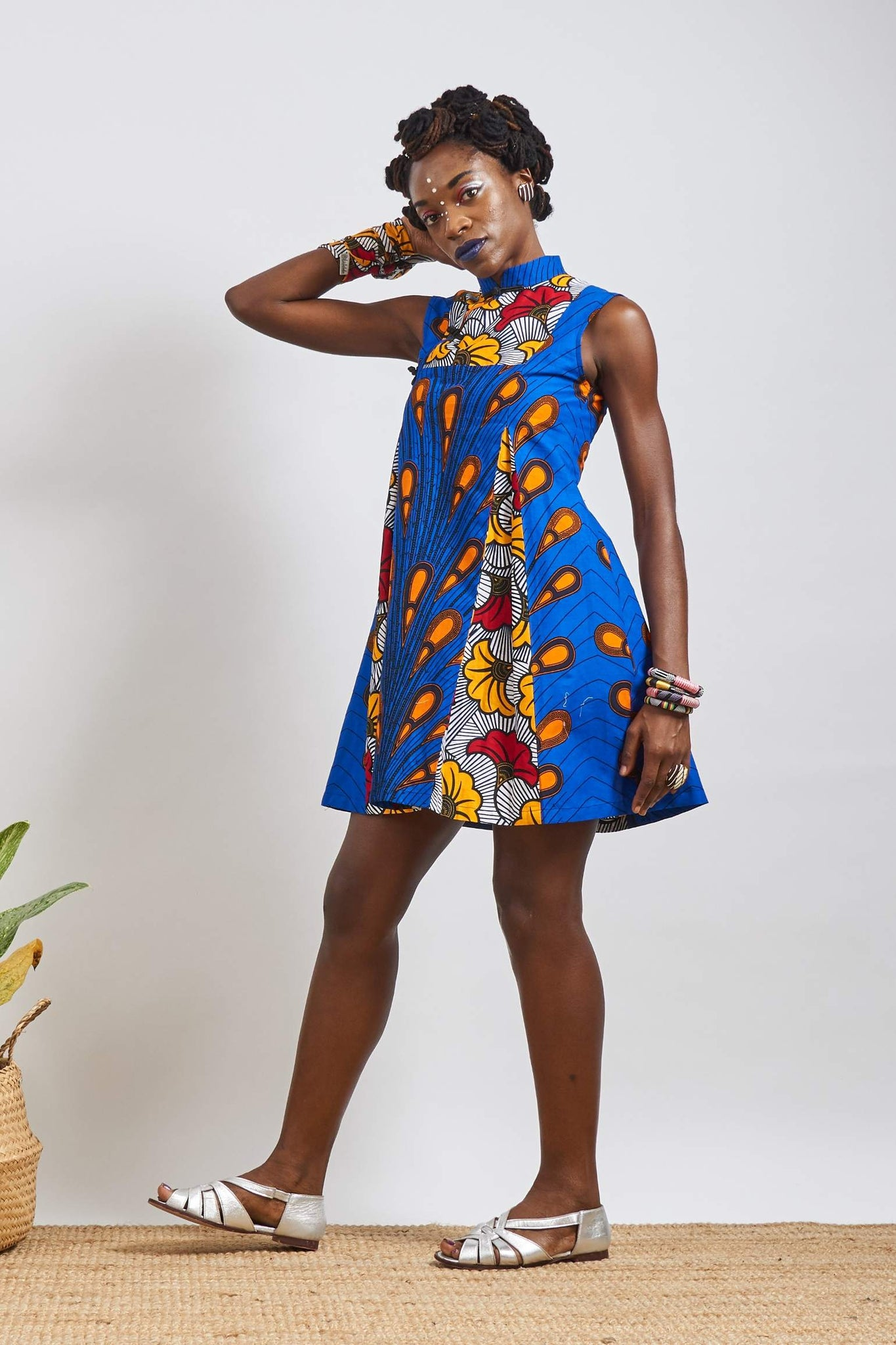Custom made Zoe Ankara Cheongsam