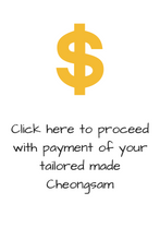 Cheongsam Payment (1 piece outfit)