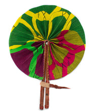 Leather African Hand Fan