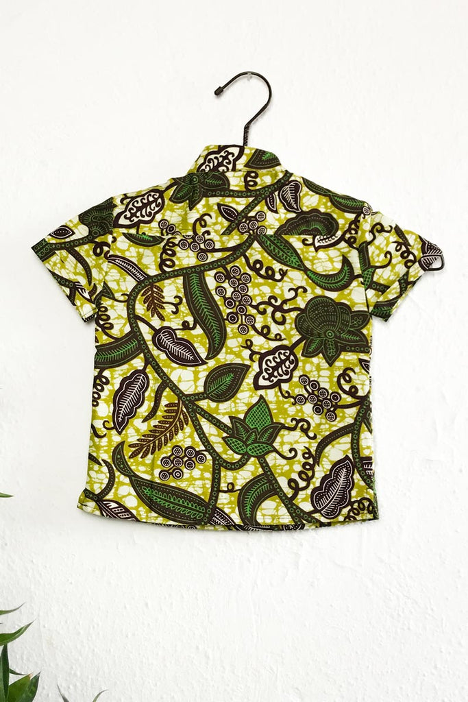 Dhiren Green Leaf Trail Shirt