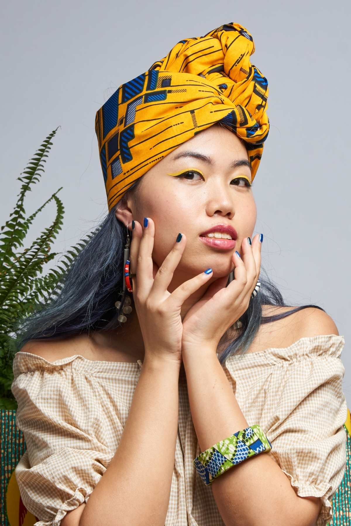 Dela Yellow Headwrap