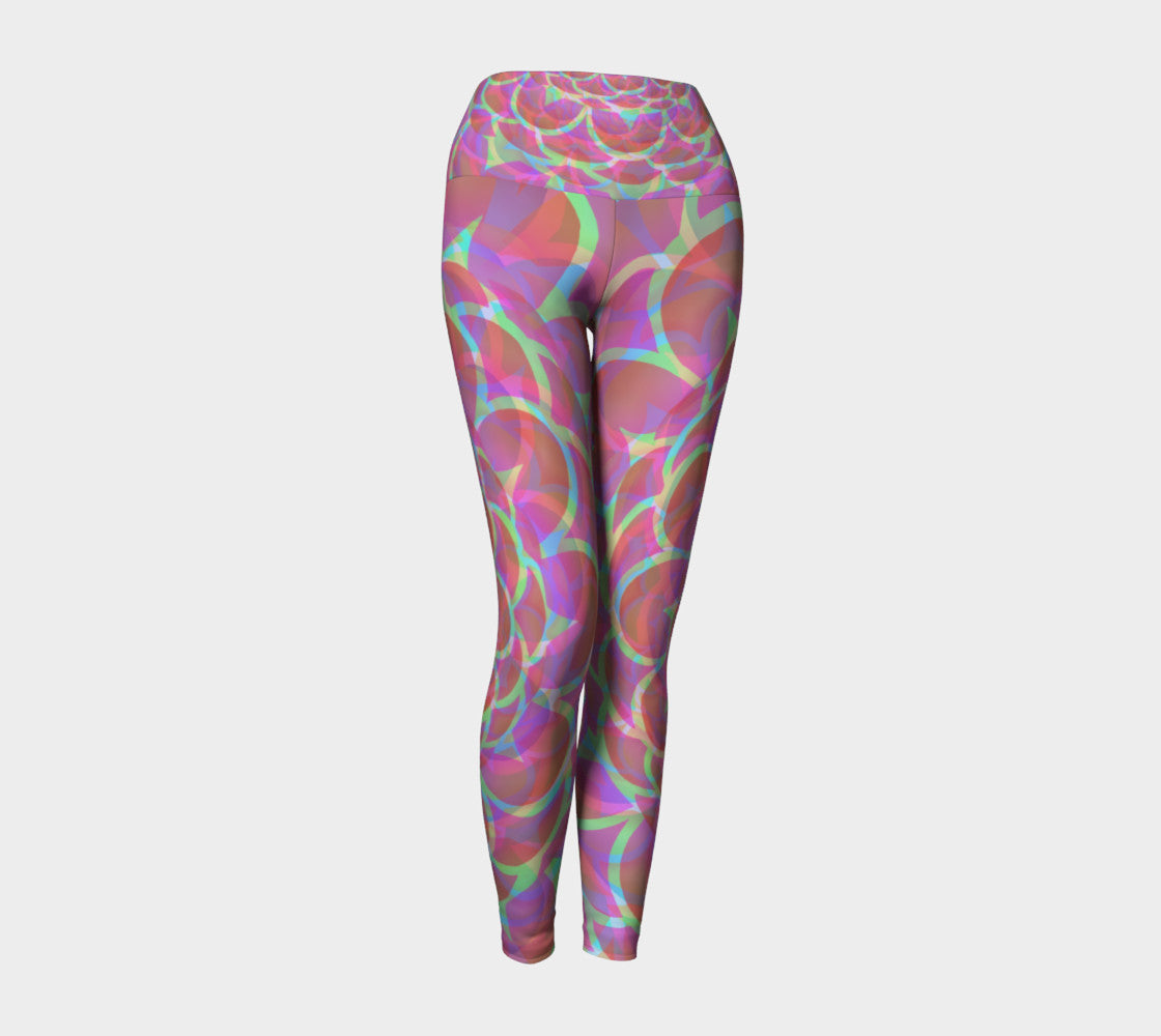 Tropical lotus flower yoga leggings what a great life tropical lotus flower yoga leggings mightylinksfo