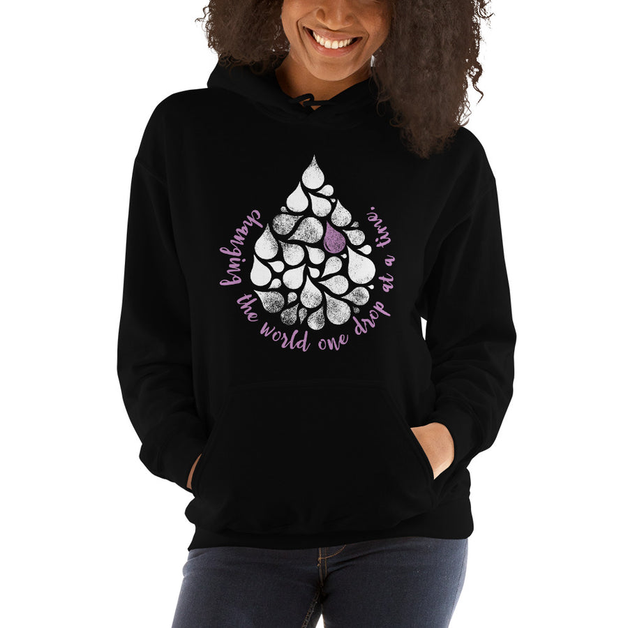 Changing the World One Drop at a Time Hoodie