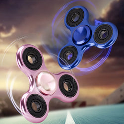 Finger Spinner 3 Hole Metal Gyro Hand Fidget Spinner For Autism/ADHD Anxiety Stress Relief Focus Kid Adult Toys BM88