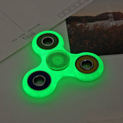 E5 Glowing Hand Spinner focus Toys EDC Fidget Spinner Toy Austism ADHD Education&Learning Toys Choice