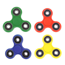 EDC Fidget Spinner Tri-Spinner Fidget Toy Adult Children Hand Spinner Spinning Tops Anti Stress Toy for Autism and ADHD