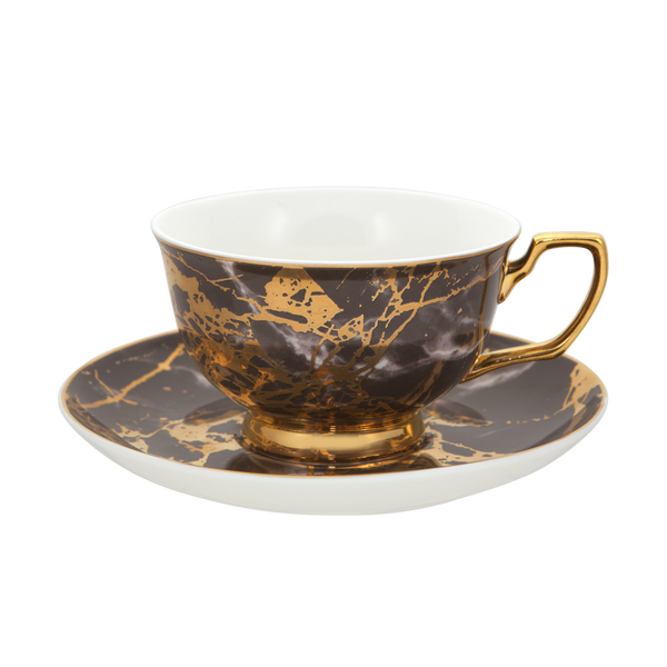 Teacup & Saucer Black Tourmaline