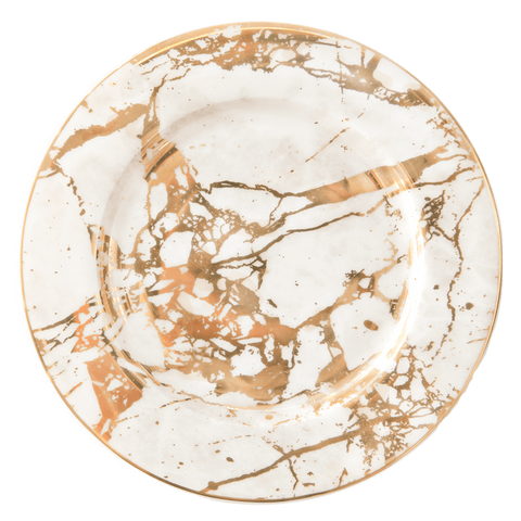 Side Plate White Celestite