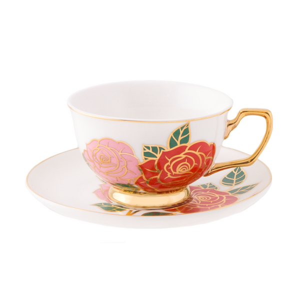 Teacup Dolce Rosa Ivory