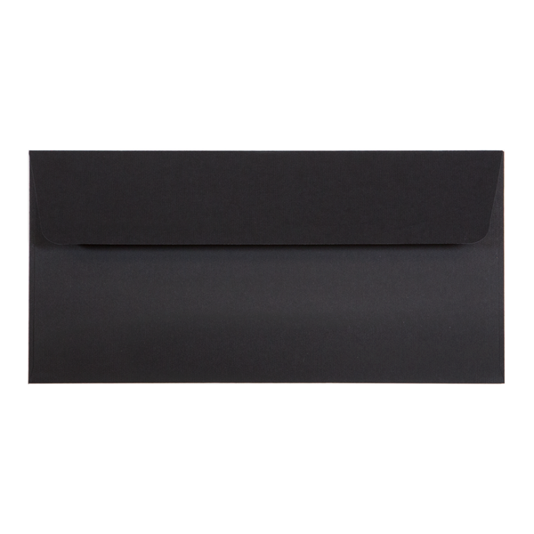 DL Envelope Linen Ebony