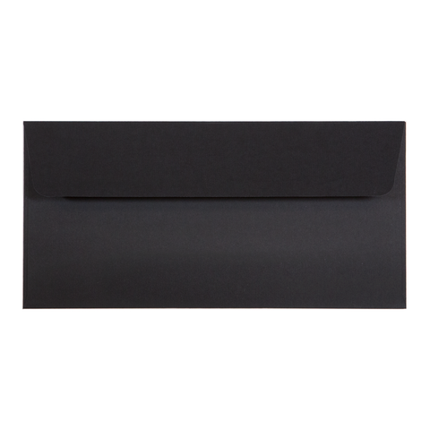 DL Envelope Linen Ebony (10 pack)