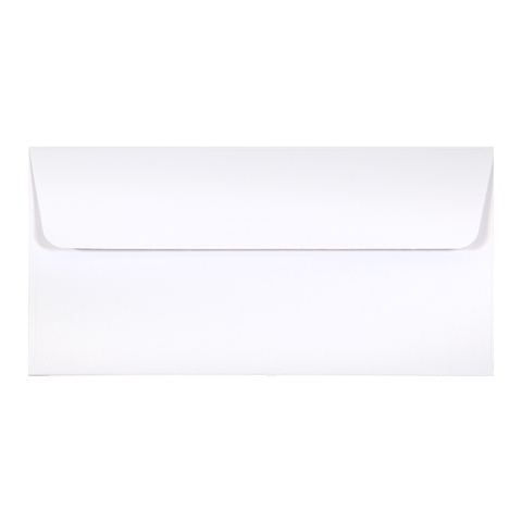 DL Envelope Linen Ivory (10 pack)
