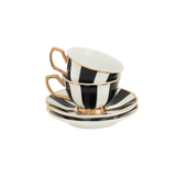 Teacup Petite Stripes Ebony