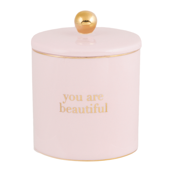 Candle You are Beautiful Blush