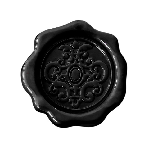 Wax Inspired Crest Ebony