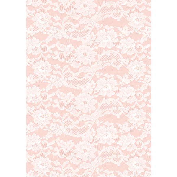 A4 Paper English Lace Rose