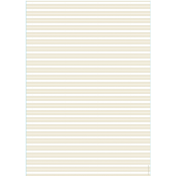 A4 Paper English Pinstripe