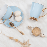 Teacup & Saucer Powder Blue