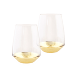 Tumbler Estelle Gold Set of 2