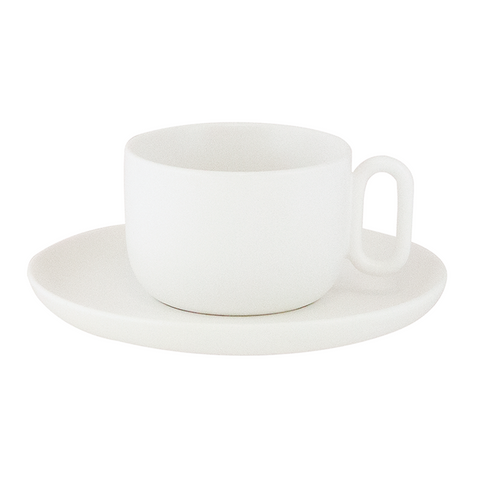 Teacup & Saucer Celine Everyday White