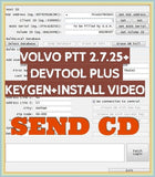 2019 NEW Premium Tech Tool PTT V2.7.87 V2.7.25 VCADS Development + Devtool Plus+Keygen +INSTALL Video+APCI+ for Volvo Diagnostic - MHH Auto Shop