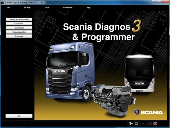 2019 Newest VCI3 SDP3 V2.31 V2.39.1 Software For Scania VCI 3 SDP 3 2.31 2.39.1 SW Download Link No Keygen Include Free Activate - MHH Auto Shop