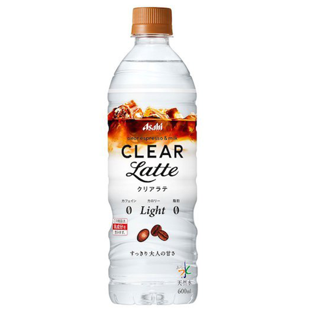 Asahi Clear Latte Water (600ml)