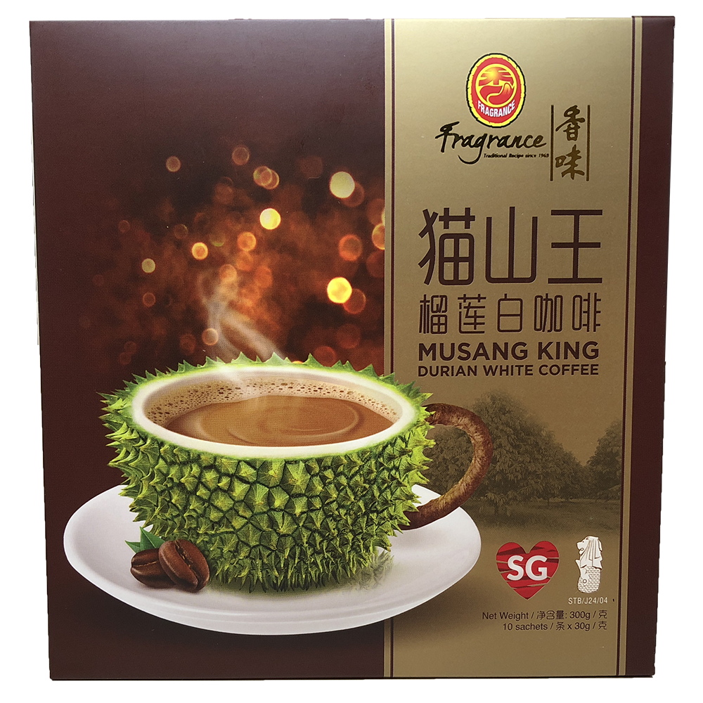 Fragrance Musang Durian White Coffee (10 x 30g)